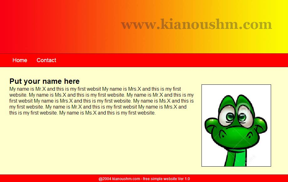 freewebsite