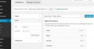 wordpress-main-menu